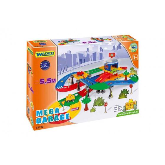 WADER Mega Garage z trasą 5,5m