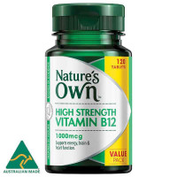 Nature's Own B12 1000mcg 120 Tablets Exclusive