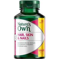 Nature's Own Hair Skin & Nails 120 Tablets Exclusive Pack
