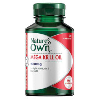 Nature's Own Mega olej z kryla 2000mg 30 Kapsułki