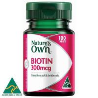 Nature's Own Biotin 300mcg 100 tabletki