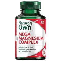 Nature's Own Mega magnez Complex 100 tabletki