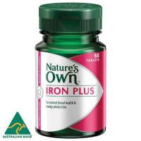Nature's Own Iron plus 50 tabletki