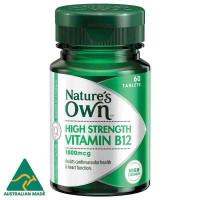 Nature własne witaminy B12 1000mcg 60 Tabletki