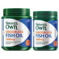 Nature's Own bezwonny olej z ryb 1500mg wysoka wytrzymałość 600 kapsułki