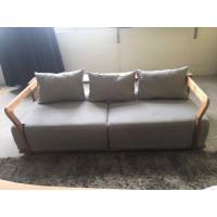 Dwie osoby sofa tkaniny