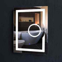 Best Quality Fogless Illuminated Led Bathroom Mirror with Touch Sensor Switch