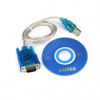 USB TO RS232 DB9 serial COM konwerter adapter wsparcie PLC Dropshipping APR 2