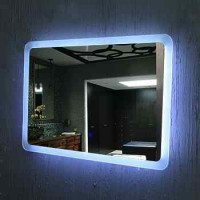 Odporny na mgły Hotel lustro lustro kwadratowe lusterko z jasnym