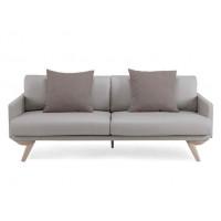 Prosty imitacja skóry sofa