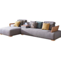 White wax wood simple about sofa combination