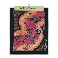 Aborygenów art Canvas-styl 2-Large