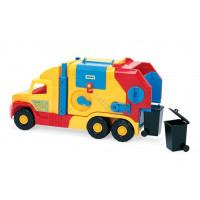 WADER Super truck śmieciarka krótka
