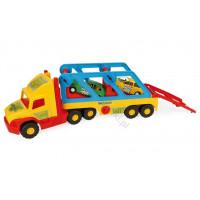 WADER Super ciężarówka z autkami