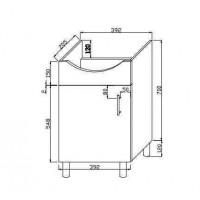 Szafka łazienkowe (C-MI400-S)