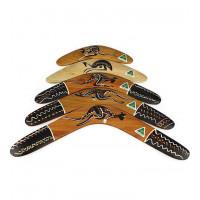 Australijskie tradycyjne Boomerang liściaste-12 cali