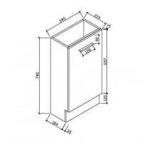Szafka łazienkowe (HAV400)