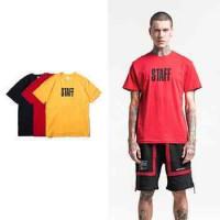 LT108 2018 męska koszulka Europa i Stany Zjednoczone nowi mężczyźni Bibo angielski druk T-shirt High Street Koszulka z krótkim rękawem