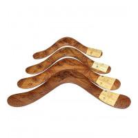 Australian Hardwood Burnt Boomerang - 12 inch